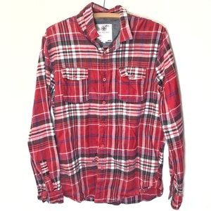 Pacsun On the byas flannel shirt men's large